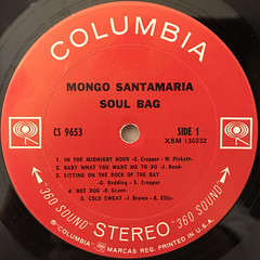 MONGO SANTAMARIA:SOUL BAG(LABEL SIDE-A)