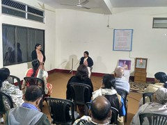 Talk on Sister Nivedita by Sampriti at Pan Bazar