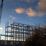 New build at UCLan Preston