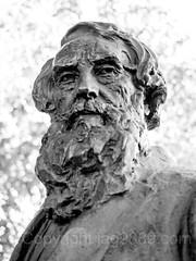 Samuel Finley Breese Morse (1791-1872) Bust Sculpture by Chester Beach