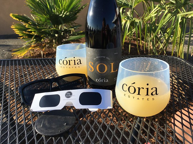 Mimosas and Pinot Noir wine - Coria Estates