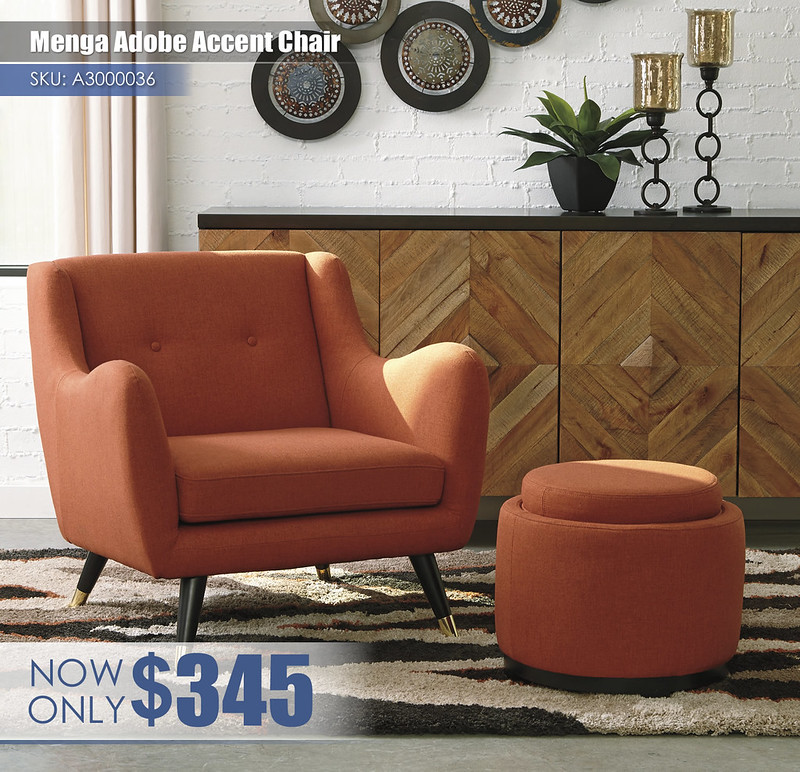 A3000036-35 - Menga Adobe Accent Chair $345