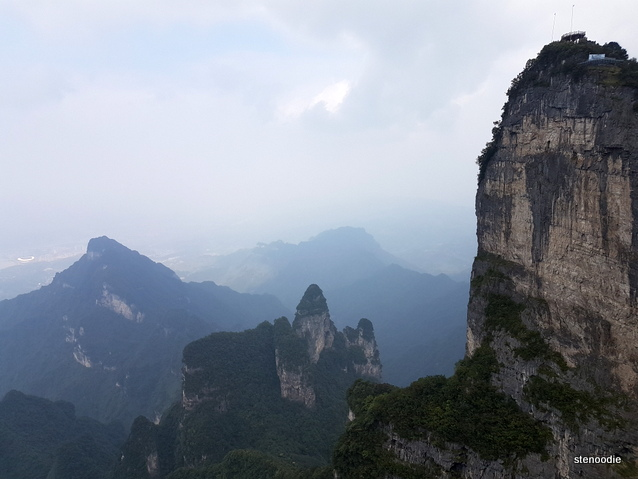 Tianmen Mountain views