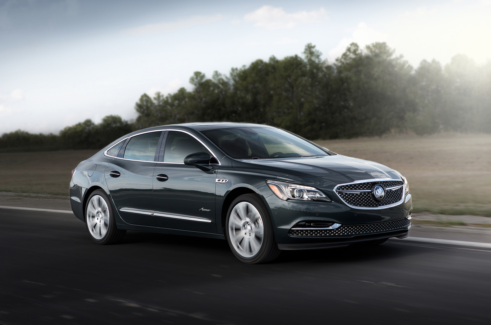 This is the 2018 Buick LaCrosse Avenir