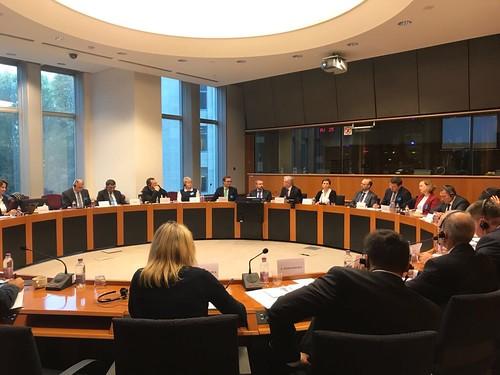 Deputaţi din Parlamentul Republicii Moldova şi ai Adunării Populare a Găgăuziei 7.11.2017 Bruxelles