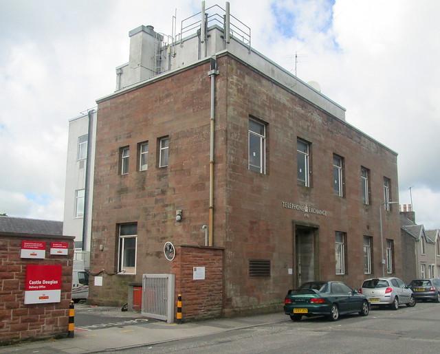 Castle Douglas Telephone Exchange