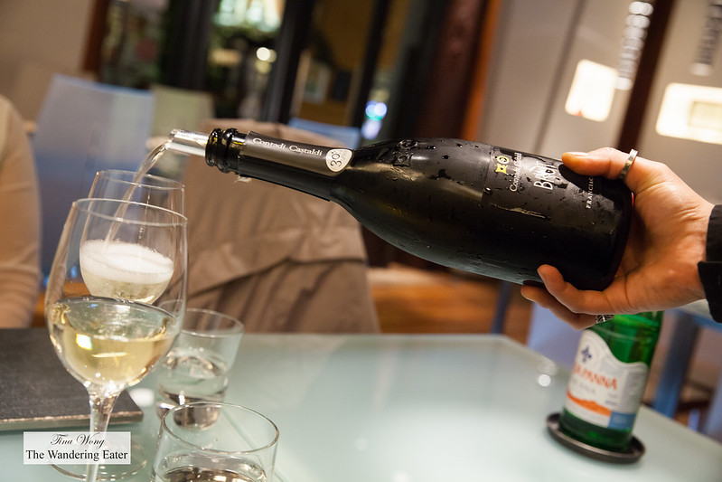 Contandi Castaldi Brut Franciacorta for welcoming drink