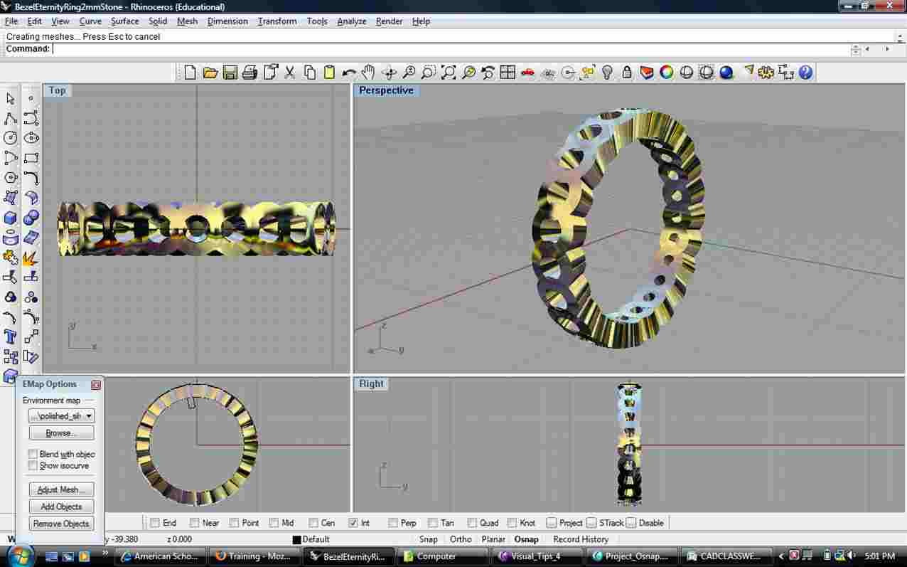 Jewellery Designing in Digital