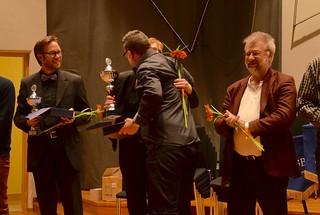 Patrik Randefalk - Åsenhöga Brass Band vann hederspris i division 1