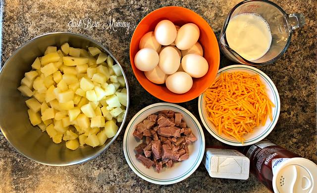 Turkey Breakfast Casserole