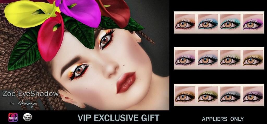 MESANGE – Zoe EyeShadow VIP GIFT