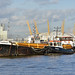 Vessels on the Thames