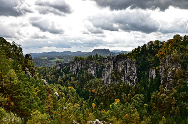 Autumn in the Saxon Switzerland