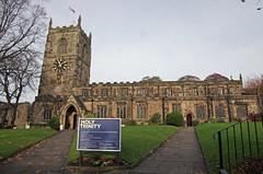 Holy Trinity Church, Skipton, England, UK