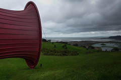 Gibbs Farm...Anish Kapoor work, this is a stunning major piece.