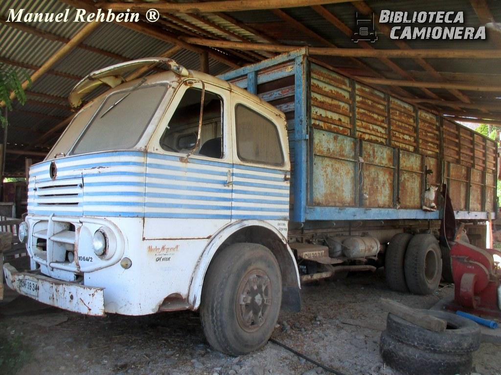 Pegaso 1064 / Transportes Héctor Serafín Noguera Noguera V ...