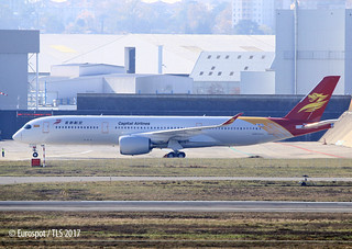 F-WZFR 1st A350 for Capital Airlines