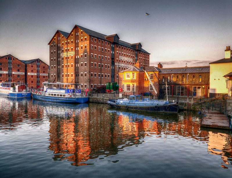 Gloucester Docks. Credit kennysarmy, flickr