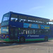 Thamesdown Ommidekka YN55 NHD 371, Swindon Bus Station 17.11.17