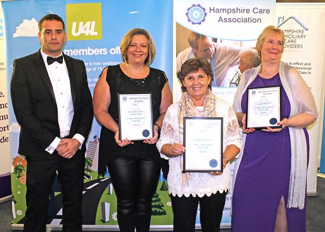 2017 Hampshire Care Awards Winners