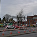 Renault - Stratford Road, Shirley - steelwork going up