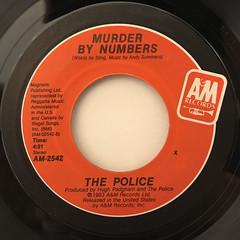 THE POLICE:EVERY BREATH YOU TAKE(LABEL SIDE-B)