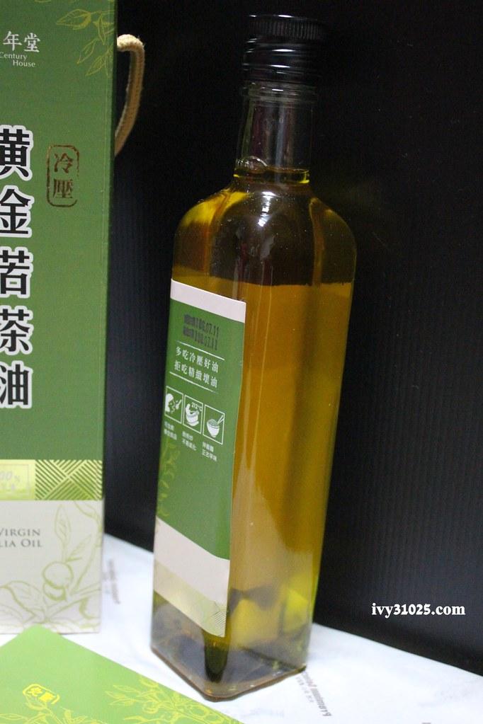 黃金苦茶油 | 百年堂 | 冷壓好油 | 苦茶籽 | 安心食用