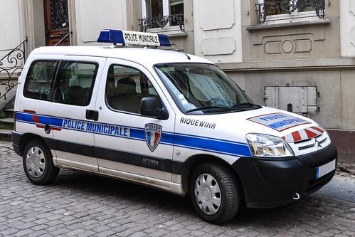 Citroen Berlingo Police Municipale Riquewihr