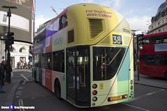 Wrightbus NRM NBFL - LTZ 1215 - LT215 - eBay - Hackney Central 38 - Arriva London - London 2017 - Steven Gray - IMG_5650