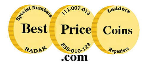Best Price Coins E-Sylum ad10 Fancy Serial Numbers