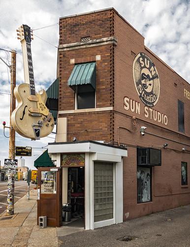 Sun Studio Café (1908), view01, 708-710 Union Ave, Memphis, TN, USA 1