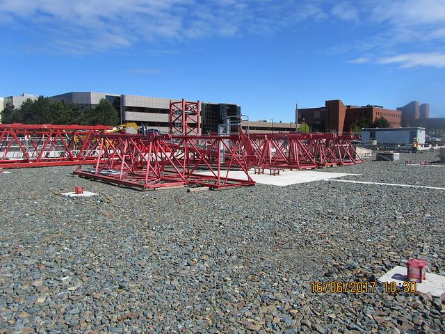 Mobilization & Tower Crane Installation 2017-06