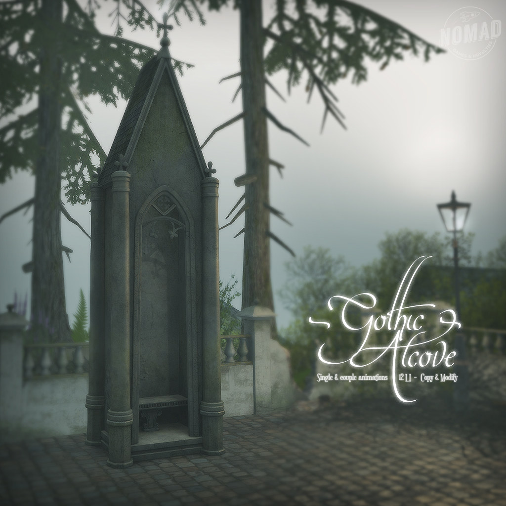 NOMAD // Gothic Alcove for Collabor88!