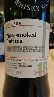 SMWS 3.304 - Pine-smoked fruit tea