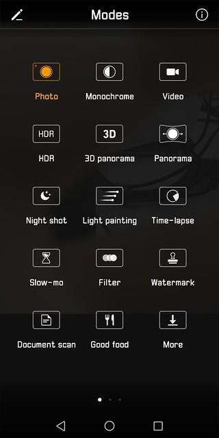 Huawei Mate 10 Pro - Camera Modes
