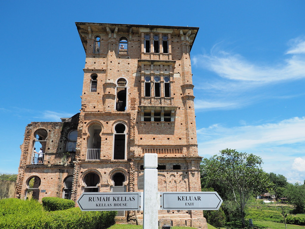 Signboard at Kellie's Castle