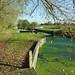 Barnes Mill Lock, River Chelmer Navigation, near Chelmsford, Essex