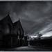 Church at dawn.