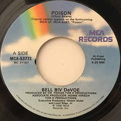 BELL BIV DEVOE:POISON(LABEL SIDE-A)