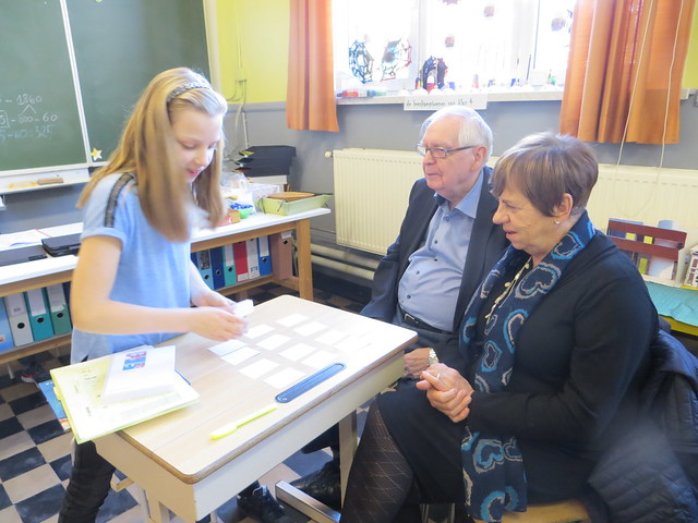 17 november - Contractwerk met oma en opa ... (4de leerjaar)