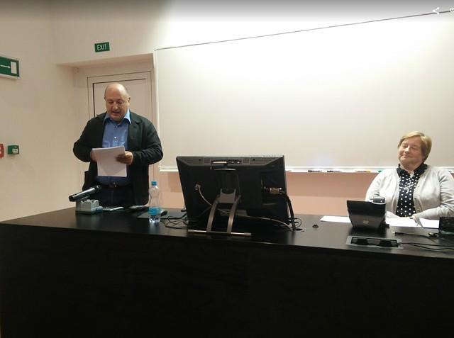 Conferencia de García Landa en Praga