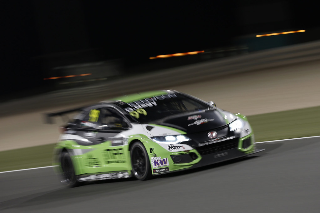 99 NAGY Daniel, (hun), Honda Civic team Zengo Motorsport, action during the 2017 FIA WTCC World Touring Car Championship race at Losail  from November 29 to december 01, Qatar - Photo Jean Michel Le Meur / DPPI