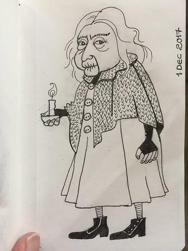 62 Inktober - Bathilda Bagshot