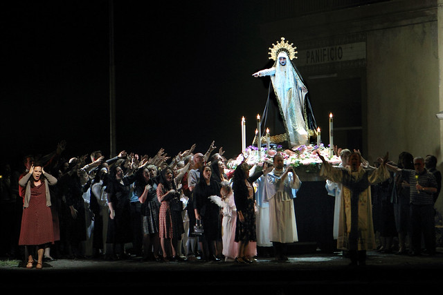 The Royal Opera in Cavalleria rusticana / Pagliacci. © ROH, 2017. Photographed by Catherine Ashmore