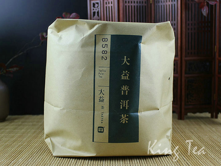 Free Shipping 2016 TAE TEA DaYi 8582 Cake 357g China YunNan MengHai Chinese Puer Puerh Raw Tea Sheng Cha Premium