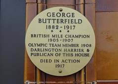 Photo of George Butterfield plaque