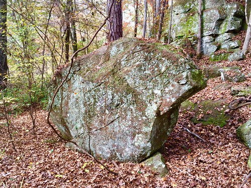 Monolith, Hurricane Creek Park, Tuscaloosa, Alabama.
