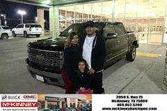 Happy Anniversary to Jose on your #Chevrolet #Silverado 1500 from Eric Dotson at McKinney Buick GMC!