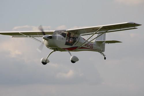 G-EFCG Aeropro Eurofox [LAA 376-15161] Sywell 020917