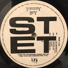 STETSASONIC:GO STETSA I(LABEL SIDE-A)